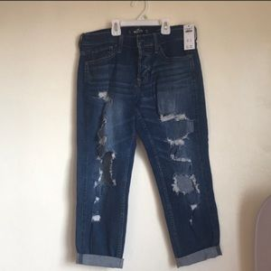 NWT Hollister distressed jeans